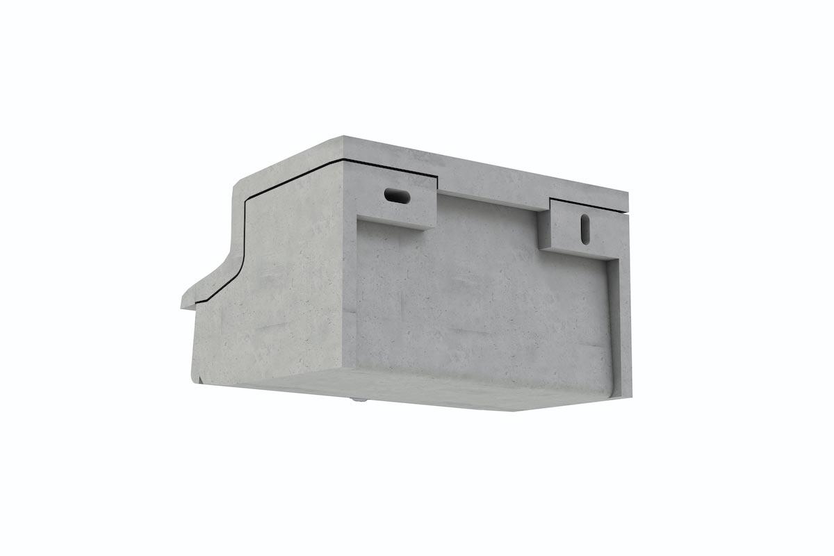 Mauerseglernistkasten von hinten